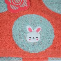 红色蓝色纯棉面巾百搭型 面巾