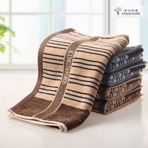 棕色灰色纯棉</=5s面巾百搭型 G1794毛巾