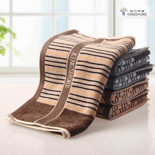 金號 棕色灰色純棉</=5s面巾百搭型 G1794毛巾