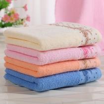 粉色米色橙色蓝色纯棉15s-20s面巾情侣 面巾