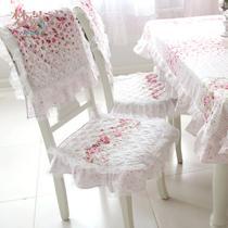 洛丽庄园-餐椅垫棉布田园 椅套
