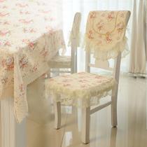 棉布韩式 餐椅套椅套