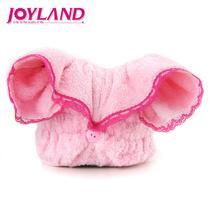 粉红色蕾丝枚红色蕾丝个人洗漱/清洁/护理通用 干发巾