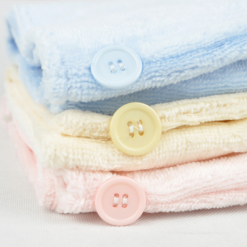 千竹坊粉色蓝色黄色竹纤维-女毛巾