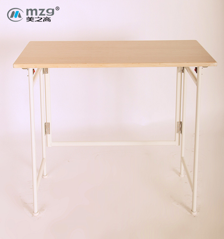 明珠港 金属钢支架结构折叠品牌LOGO北欧/宜家 折叠桌