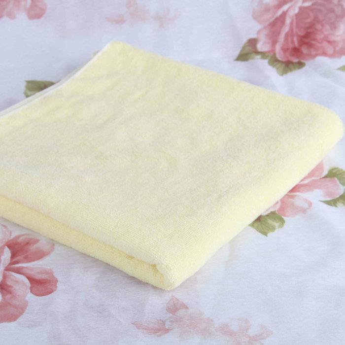 邁克美林 奶黃色面巾女 毛巾