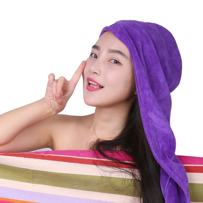 笑妈妈 个人洗漱/清洁/护理通用 干发巾