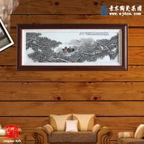 陶瓷现代中式 瓷板画