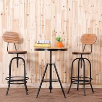 铁艺支架结构移动艺术美式乡村 咖啡桌