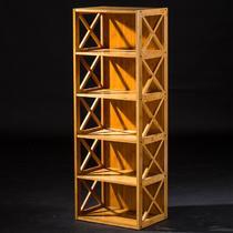 四层柜三层柜二层柜竹框架结构拆装简约现代 组合柜