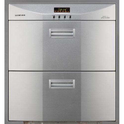 帅康 ≤85℃二级臭氧、紫外线消毒不锈钢轻触式按键开关 消毒柜