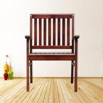 棕色原木色支架结构拆装艺术成人田园 靠背椅