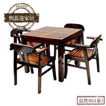 实木美式乡村 hw3咖啡桌
