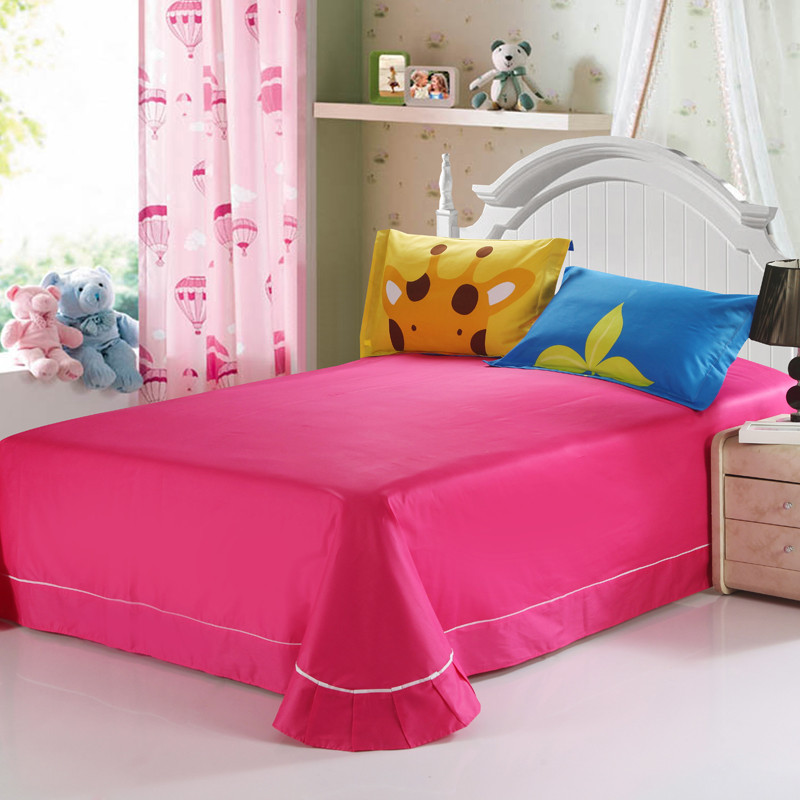 艾多美 蕾丝边荷叶边活性印花卡通动漫床单式 床品件套四件套图片