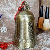 电铸/镀金桌面摆件镇宅现代中式 铃铛