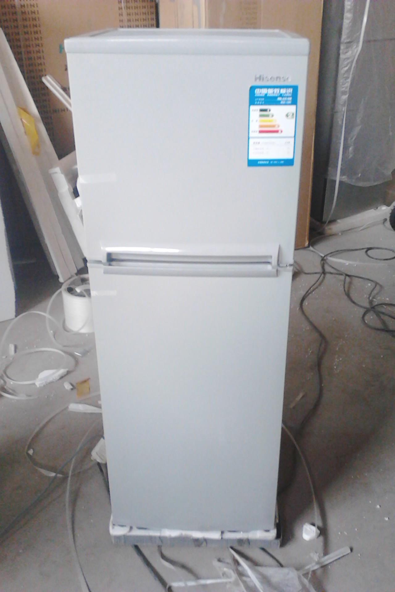 海信 左开门双门定频二级冷藏冷冻bcd-139ch冰箱 冰箱