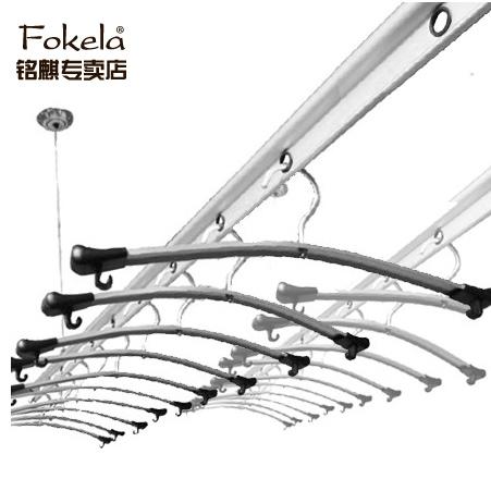 弗客拉 阳台升降式铝双杆式 晾衣架