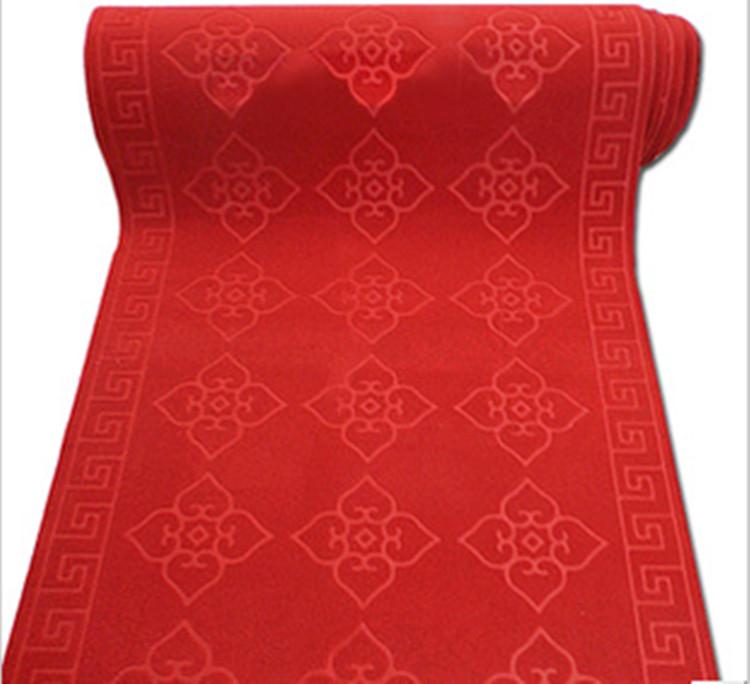 美啊美 现代中式心形长方形中国风机器织造 地毯