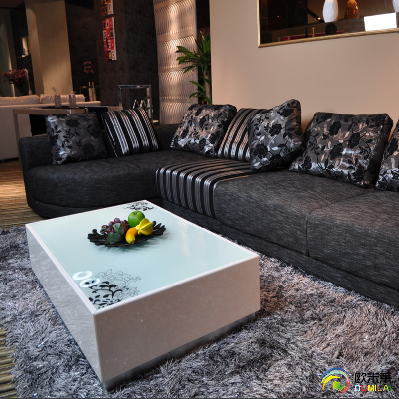 欧米莱蚕丝欧式纯色长方形欧美机器织造-地毯