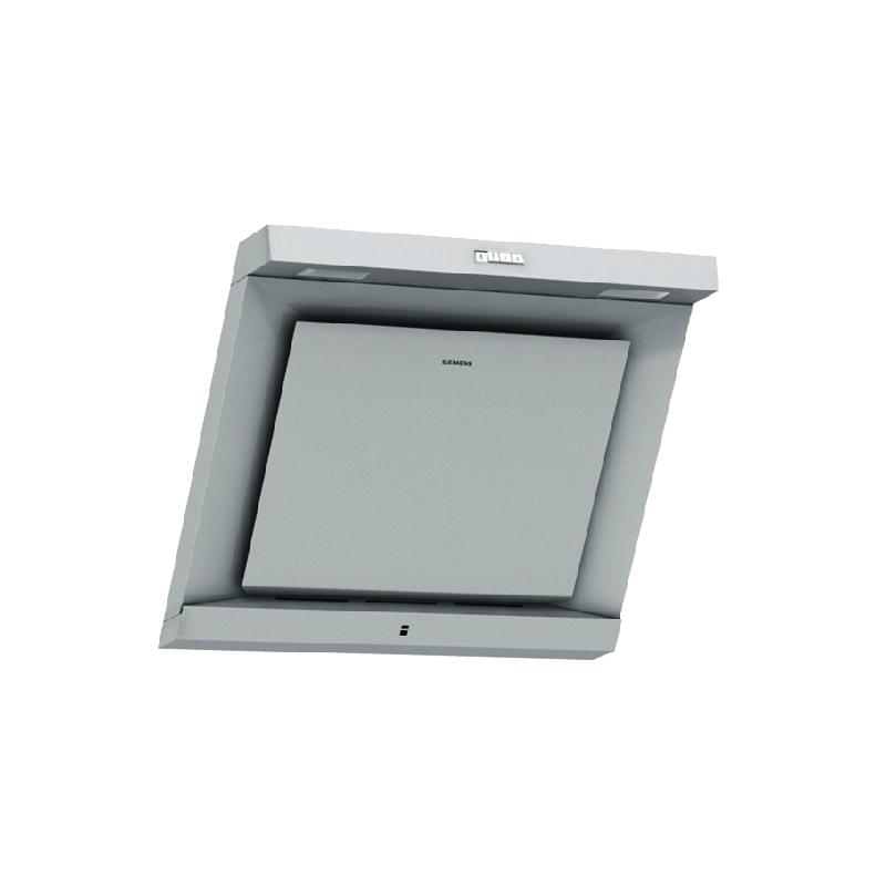 西门子 浅灰色不锈钢面板侧吸式 抽油烟机
