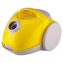 亮黄卧式尘盒/尘桶机械式 吸尘器
