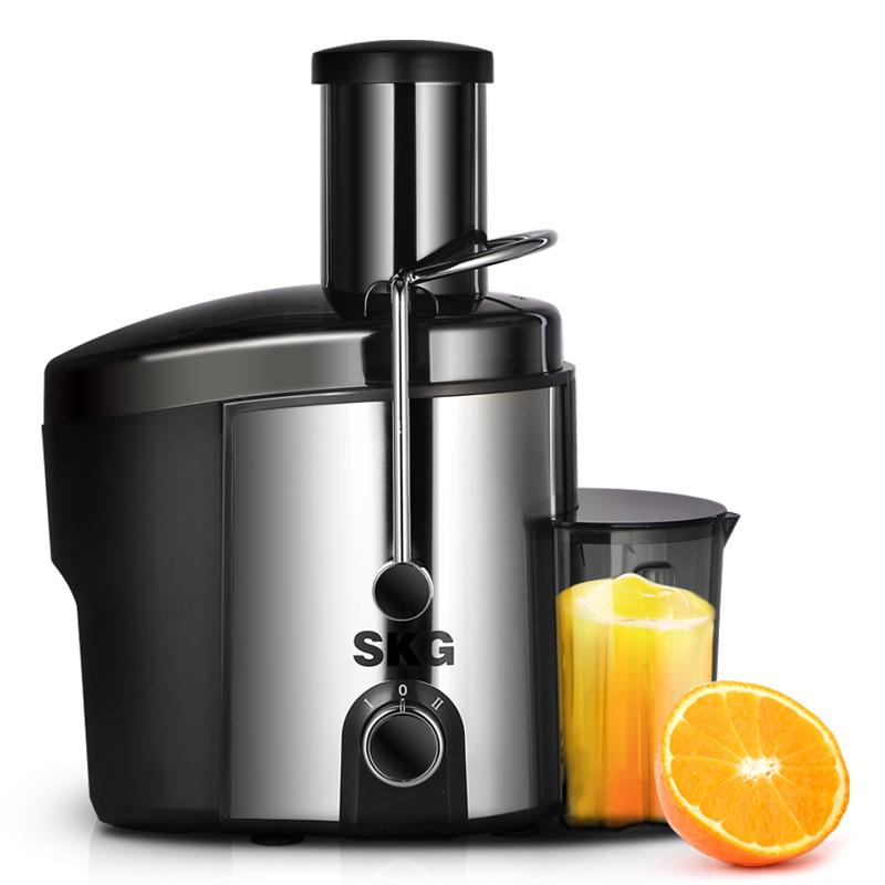 艾诗凯奇 浅灰色榨汁不锈钢 榨汁机