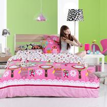 床笠款床单款韩式涂料印花斜纹卡通动漫床单式卡通风 11402131428床品件套四件套