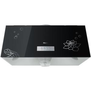 海尔 黑色螺口灯泡54dB(A)冷板中式 抽油烟机