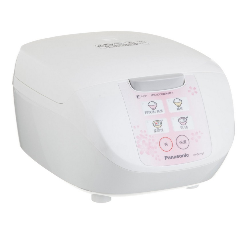 松下 预约定时圆形煲微电脑式 SR-DF101-P电饭煲