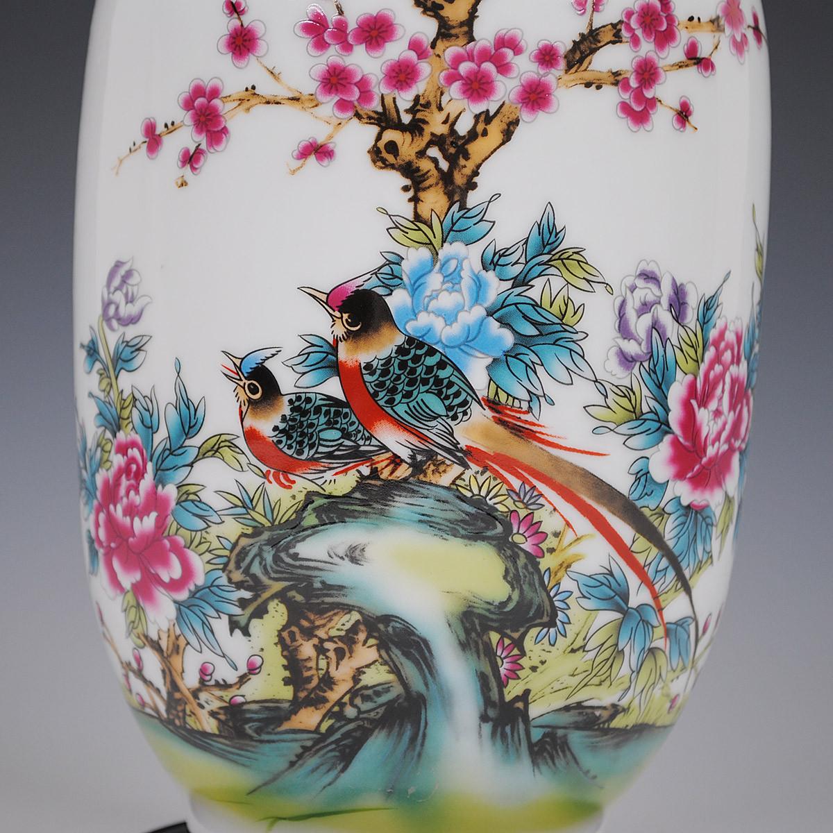鼎众陶瓷 陶瓷台面花瓶小号简约现代 花器