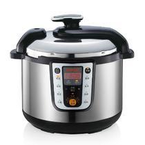 不锈钢外壳煲蒸煮炖焖预约定时全国联保微电脑式 电压力锅