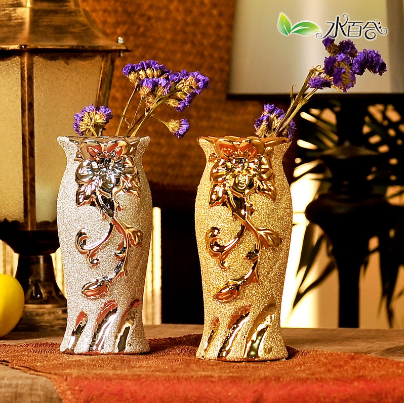 水百合 陶瓷台面sbh_hc2290花瓶中号欧式 花瓶
