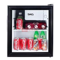 SKG DB3506单门电冰箱46L 家用保鲜静音节能型小冰箱 黑色冰箱