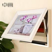 平面有框独立植物花卉喷绘 装饰画