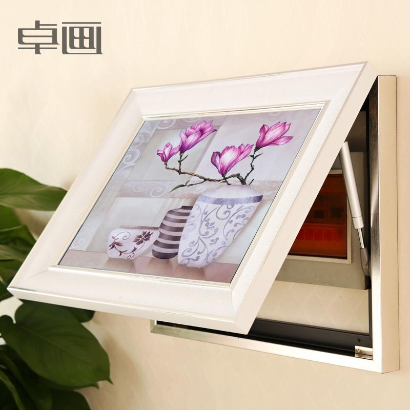 卓画 平面有框独立植物花卉喷绘 装饰画
