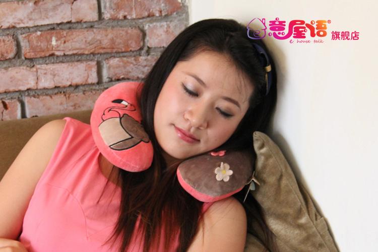 意屋语优等品型枕头护颈枕
