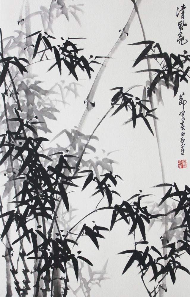 锦翰堂有框独立花鸟图案-国画