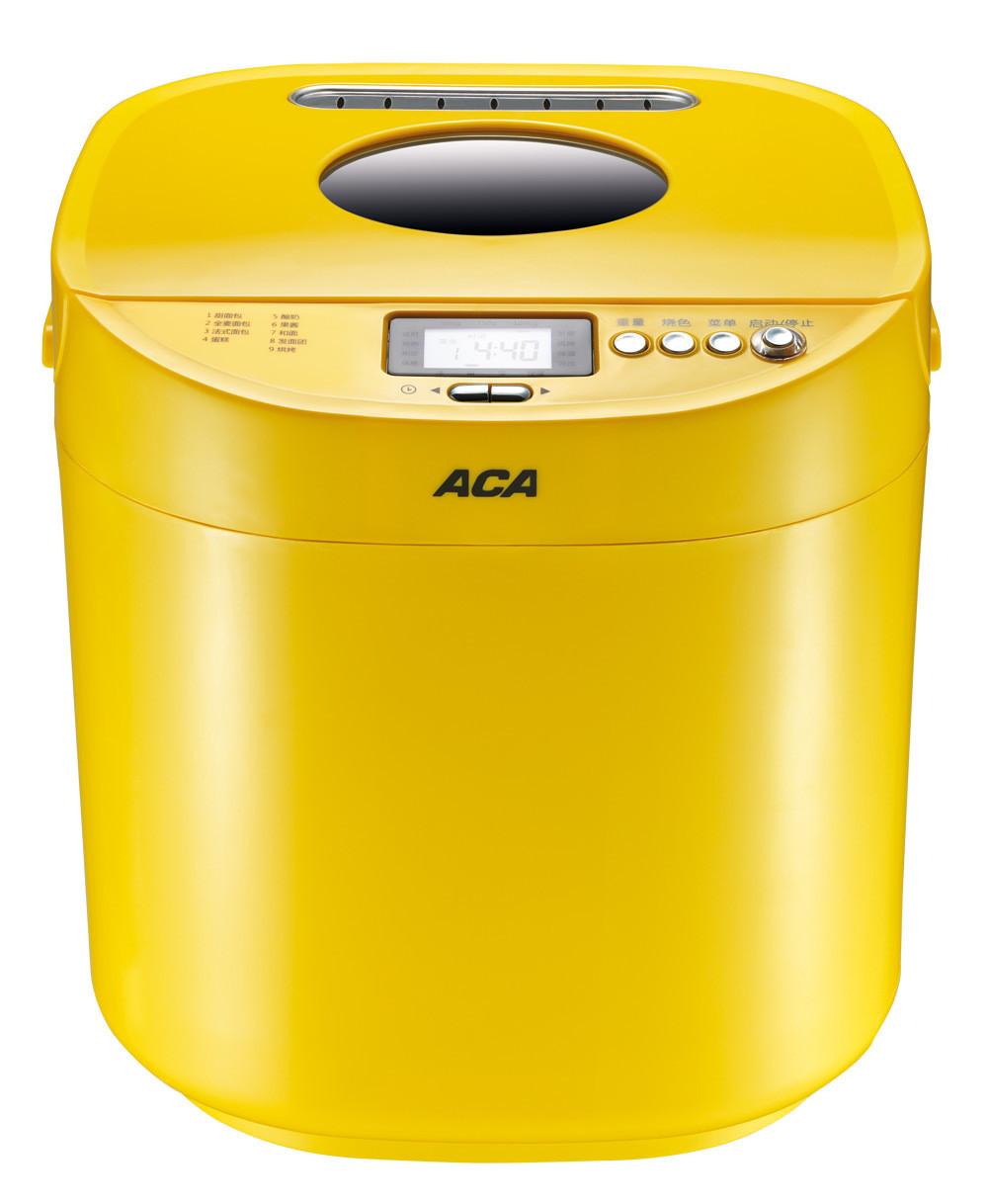 北美电器 黄色单搅拌叶片3档塑料50Hz特氟龙涂层 AB-P10BN面包机