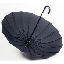半自动碰击布晴雨伞长柄伞成人 QT003B遮阳伞