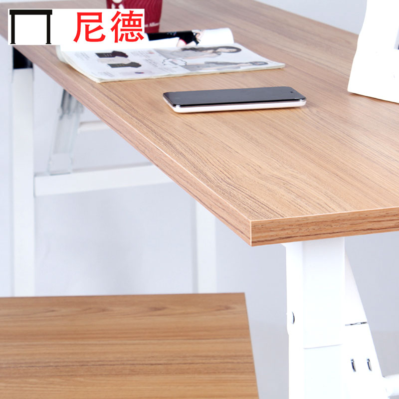 尼德人造板刨花板三聚氰胺板框架结构折叠北欧宜家折叠桌