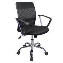 黑色系无职工椅/电脑椅深圳进口网布现代简约 转椅