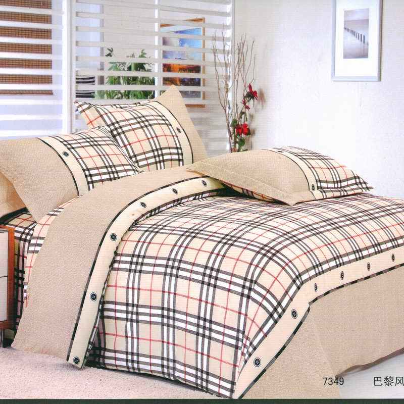 皇家皇朝 滌棉所有人群四件套床單式田園風格活性印花 巴黎風情床品件套四件套