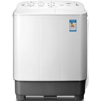 美的半自动波轮洗衣机全塑内筒洗衣机
