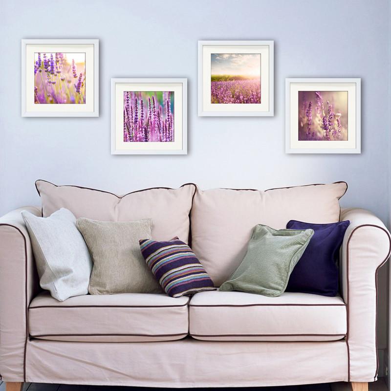 美蝶畫業 平面有框單幅價格植物花卉印刷 裝飾畫