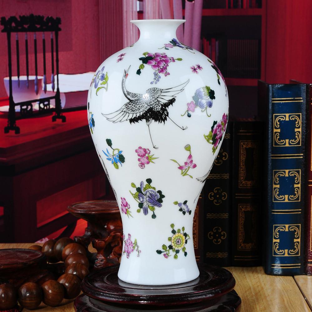 盛天下 陶瓷臺面花瓶田園 花器