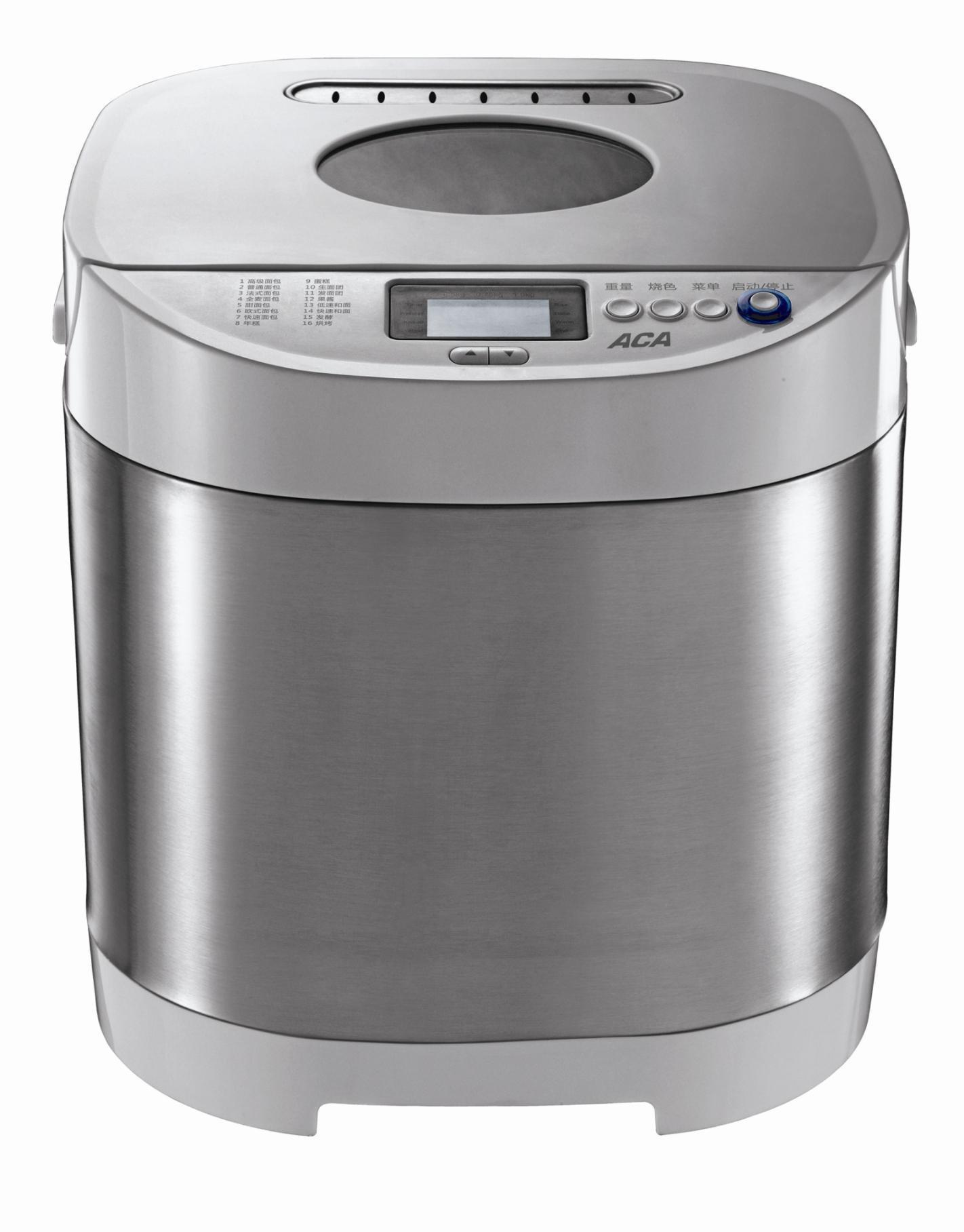 北美电器 银色单搅拌叶片3档不锈钢50Hz硬质氧化材质 AB-SN6513面包机