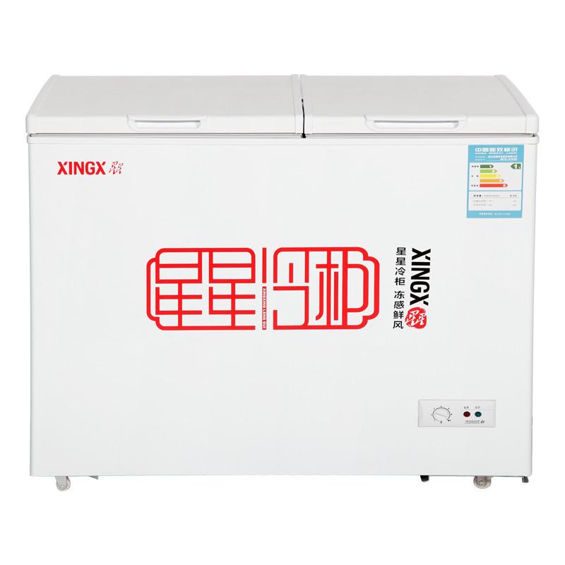 星星 多门式卧式全国联保冷藏冷冻二级 BCD-280E冷柜