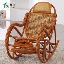 植物藤框架结构移动抽象图案成人田园 藤椅