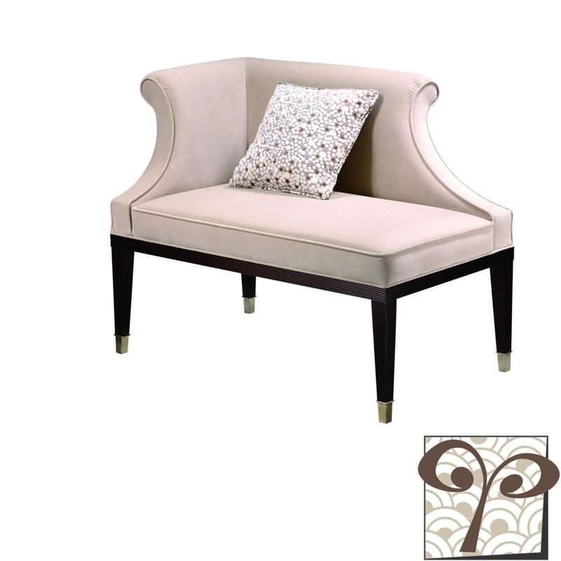 韵永 面料木质工艺框架结构桦木 贵妃椅