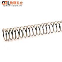 不锈钢压缩弹簧直径34568毫米弹簧